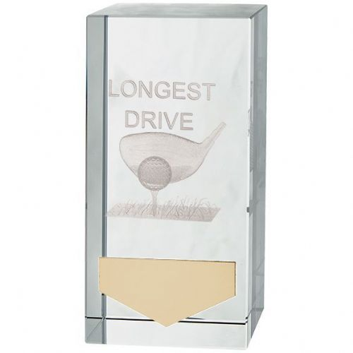 Inverness Golf Longest Drive Crystal Award100mm